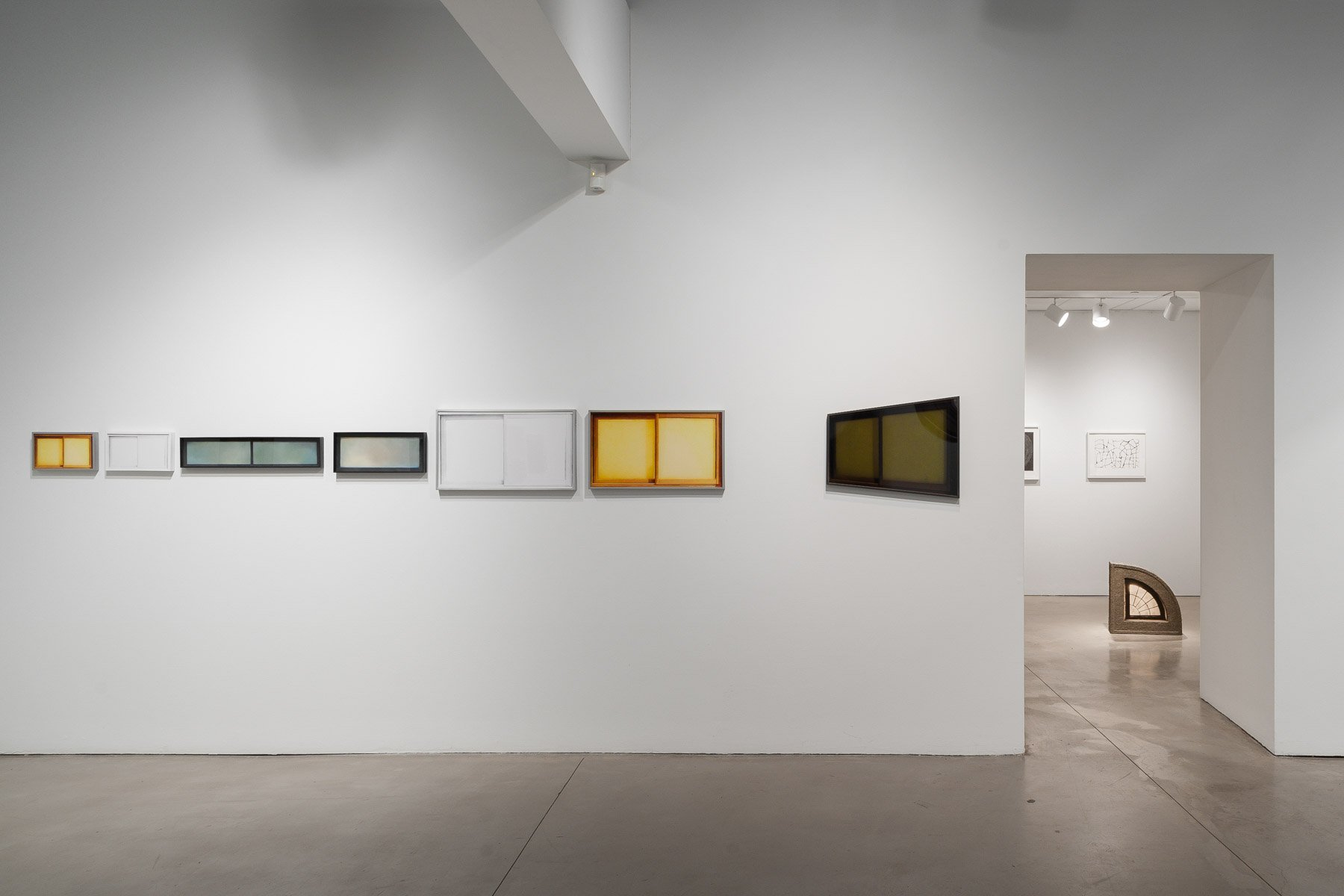 installation view of Gwenn Thomas' artwork